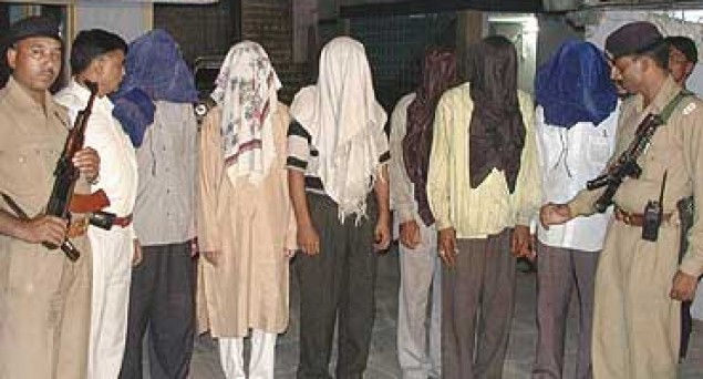 அக்ஷர்தாம் வழக்கில் கைது செய்யப்பட்டவர்கள்